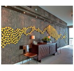 Gold Leaf Design Group Seed Wall Play - Gold