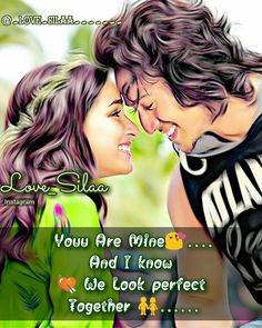 tiger shroff love and importance picture Cute Love Quotes For Him, Real Love Quotes, Beautiful Love Quotes, Sweet Quotes, Love Romantic Poetry, Romantic Love Quotes, Romantic Status, Beautiful Status, Love Sayri
