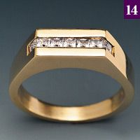Part 24: Setting Square Stones In ChannelsNOTE: The procedures in this article are standard practices for bench jewelers at this time. If not executed properly, however, they can cause harm. Neither the author nor the publisher is responsible for injuries, losses, or damage that may result from the use or misuse of this information.Safety Alert:…