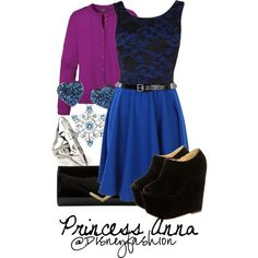 """anna frozen"" by eli2612 on Polyvore"