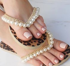 New Nail Designs, Simple Nail Designs, Art Designs, Cute Toes, Pretty Toes, Purple Sandals, Crystal Belt, Bridal Heels, Stylish Sandals