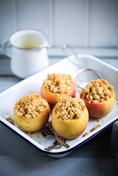 Ein Rezept für Apple Crumble im Apfel – mein Soulfood im Herbst