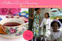 PARTY THEME: HOST A MOTHER & DAUGHTER AFTERNOON TEA PARTY — Martie Duncan