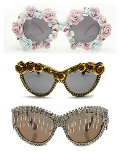 A-Morir : Eccentric ,Fun,Theatrical, Baroque Sunglasses Funky Glasses, Cute Glasses, Theme Carnaval, Mario E Luigi, Fashion Eye Glasses, Four Eyes, Look Fashion, Vogue Fashion, Cat Eye Sunglasses