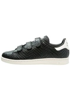 STAN SMITH - Sneakers laag - core black/offwhite