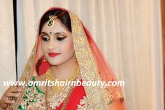 #Makeup is a way for a woman to look and feel like herself, only prettier and more confident. Meet the best Makeup Artist for Bridal Makeup, Anu Sen at http://www.amritshairnbeauty.com, or call: 9461088831