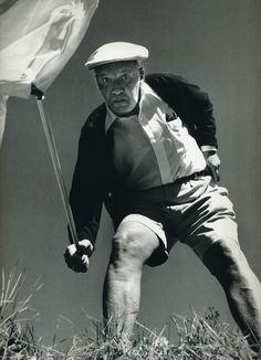 Vladimir Nabokov, butterfly hunting by Halsman