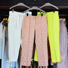 Sies Marjan Cropped Trousers | Available at Julianne