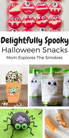 These sweet and healthy Halloween treats make the perfect kid snack or party food!