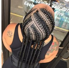 Hairstyles With Bangs .Hairstyles With Bangs Braided Cornrow Hairstyles, Feed In Braids Hairstyles, Braids Hairstyles Pictures, Black Girl Braided Hairstyles, Hair Pictures, Cornrows, Natural Hair Braids, Braids For Black Hair, Hot Hair Styles
