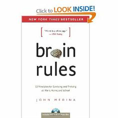 Brain Rules: 12 Principles for Surviving and Thriving at Work, Home, and School: John Medina Audiobooks, Books To Read, Brain, Survival, Author, Facts, Education, Learning, School