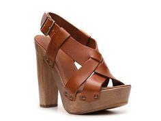 Dolce & Gabbana Wooden Platform Sandal Casual Sandals Sandals Women's Shoes - DSW