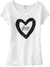 T-shirt à imprimé de pierres du Rhin pour femme Old Navy