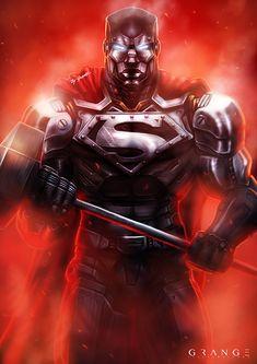 Steel - Reign of Supermen by Grange-Wallis.deviantart.com on @DeviantArt