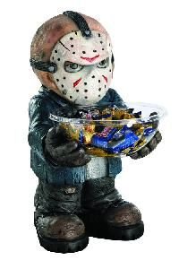friday the 13th jason voorhees candy bowl holder collectible - Freddy Krueger Halloween Decorations