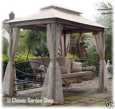 Orlando luxury #garden #patio gazebo swing bed hammock bench seat sun #lounger ne, View more on the LINK: http://www.zeppy.io/product/gb/2/281727610835/
