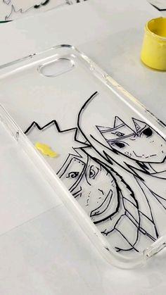 Naruto and Sasuke Custom IPhone Case
