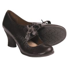 Naya Jada Mary Jane Pumps - Leather (For Women) in Oxford Brown