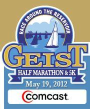 Geist Half Marathon - Geist, IN @Tayla Geist are you responsible for this?!