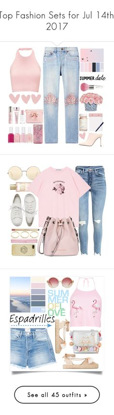 """Top Fashion Sets for Jul 14th, 2017"" by polyvore ❤ liked on Polyvore featuring Bliss and Mischief, The French Bee, Ted Baker, By Terry, ban.do, StudioSarah, Flynn&King, Essie, Sergio Rossi and Guerlain"