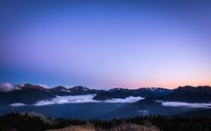 """""""Sunset on Blue Mountain"""" -- #wallpaper by """"jdphotopdx"""" from http://interfacelift.com -- Taken near the summit of Blue Mountain, in Olympic National Park. Lightroom CC -- Available as #wallpapers in any resolution at: http://interfacelift.com/wallpaper/details/4034/sunset_on_blue_mountain.html"""