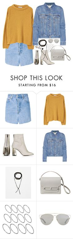"""""""Untitled #1776"""" by samikayy76 ❤ liked on Polyvore featuring Vetements, MANGO, Topshop, Acne Studios, ASOS, Christian Dior and Kiehl's"""