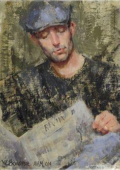 William Schneider painting