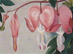 Georgia O'Keeffe. Bleeding Heart 1, 1938