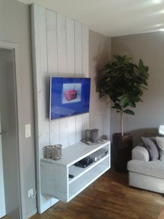 Stoere TV Wand