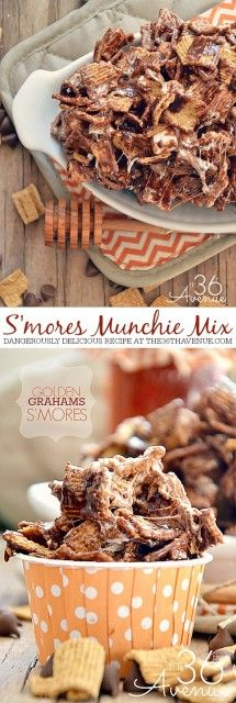 S'mores Munchie Mix Recipe