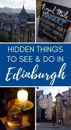 A travel guide to some of the lesser-known things to see and do in Edinburgh, Scotland. There are lots of surprises down the city's wynds and closes!