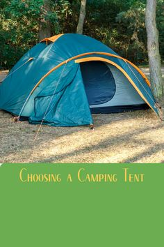 Tents come in all shapes and sizes. If you're car camping, a dome-shaped tent might be best to give more room and comfort. However if backpacking is your thing, then an ultralight 2-person tent will work better (and save weight). We've got you covered with what to look for when buying a tent! Diy Camping, Camping With Kids, Tent Camping, Camping Hacks, Camping Gear, Outdoor Camping, Outdoor Gear, Backpacking, Glamping