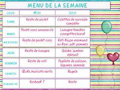 idée menu semaine simple 2ème semaine de menus simpl'express | Idées Menus | Pinterest  idée menu semaine simple