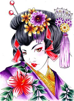 geisha_portrait_by_neffo-d2z4ocj.jpg (400×550)