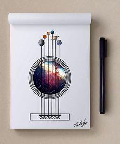 Boa noite - Estrelas temáticos Ilustrações de Muhammed Salah    Arte e Design