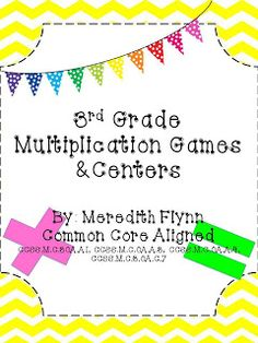 Confessions of a Teaching Junkie: Multiplication Product Swap