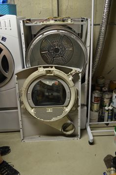 How We Fixed Our Squeaky Dryer | laughingabi.com