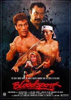 80s Movie Posters, Movie Tv, Sci Fi Movies, Action Movies, Bolo Yeung, Indrajal Comics, Claude Van Damme, Bruce Lee, Brandon Lee