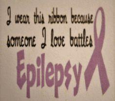 WEAR PURPLE 2 SHOW UR SUPPORT TOMORROW (Monday 3-26-12) 4 EPILEPSY AWARENESS!!!!