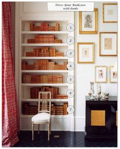 How to Dress Your Bookcase 1 of 4