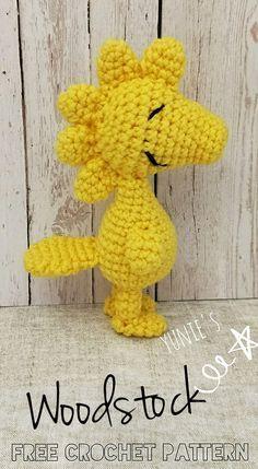 Free crochet pattern : Woodstock Amigurumi | Free Crochet Pattern | Singapore | Yunie's