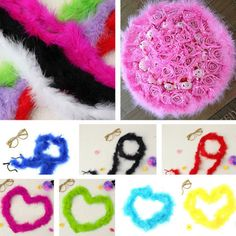 2m marabou feather boa for hat #fancy dress #burlesque party wedding prom #decor,  View more on the LINK: http://www.zeppy.io/product/gb/2/231818690335/
