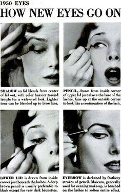 50-s makeup