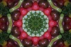 Kaleidoscope Tomatoes Photographic Art Print For Sale