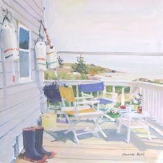 Charles Reid, Summer Porch - The Munson Gallery