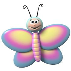 Sticker papillon 1
