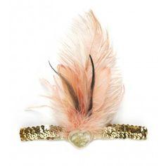 Flamingo Feather Headband by Tutu du Monde