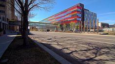 the new Edmonton Clinic, University of Alberta