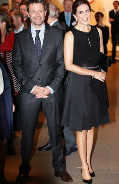 """Friday, 25 October, 2013 Mary & Frederik at the Launching of the exchange programme """"MADE by the Opera House"""" and opening of """"Architecture makes the City"""" in the Opera House"""