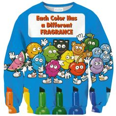 Sweatshirts - Scented Markers Sweater